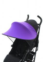 Козырек от солнца Темно-фиолетовый
