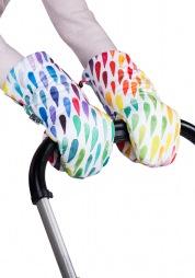 "LEO-KRAAGS HAND MUFFS ""Rainbow"""