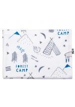 "Baby blanket ""Lamas Camp"""