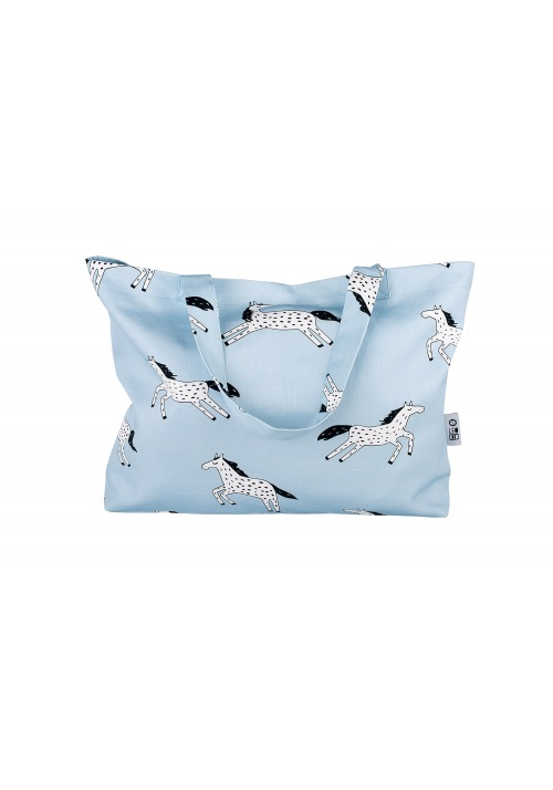 Bag-tote Blue Magic Horse
