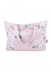 Bag tote Leokid Pink Vespa Croc