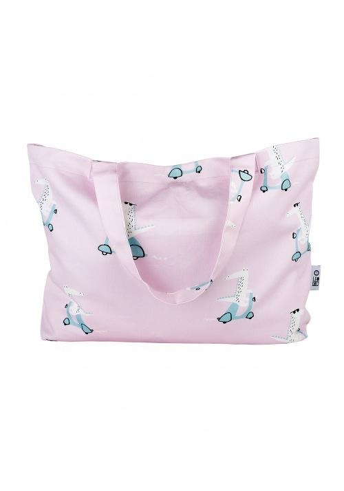Сумка-тоут Pink Vespa Croc