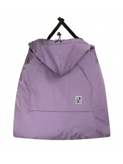 "LEOKID COVER FOR BABY CARRIER ""Purple Gray"""