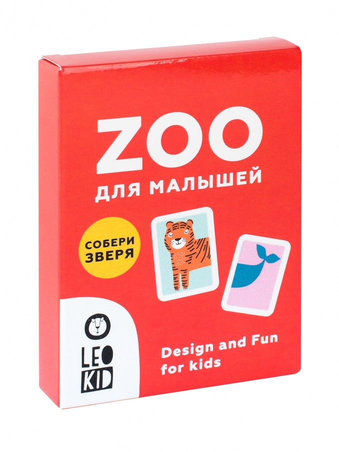 Set of cards ZOO