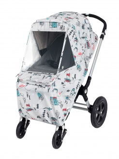 "Leokid raincover for stroller ""Cute park"""