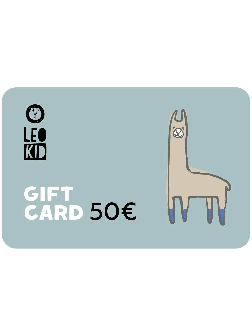 Electronic gift card 50€