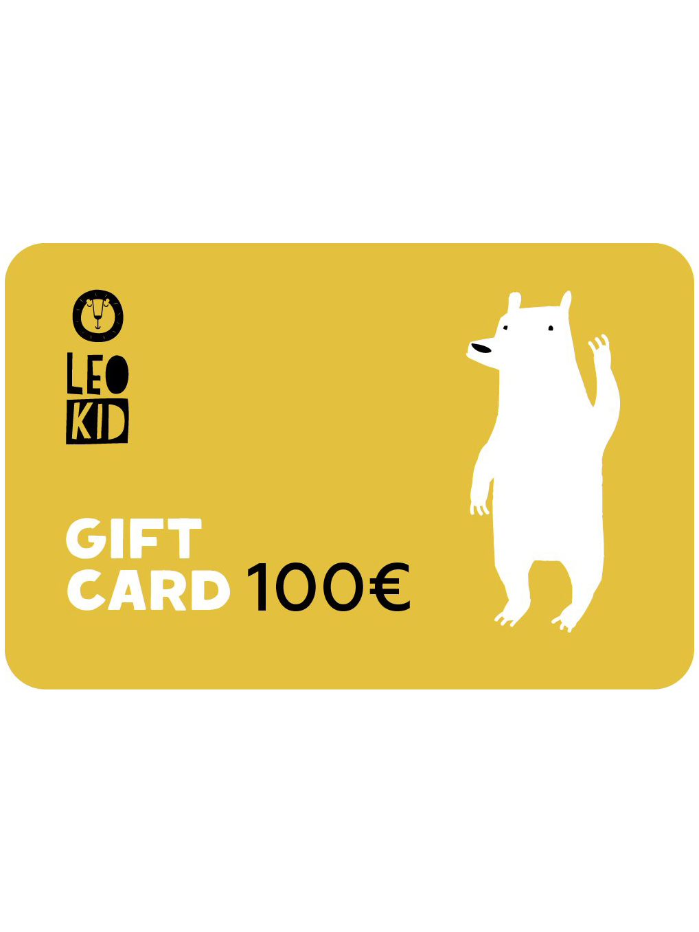 Electronic gift card 100€