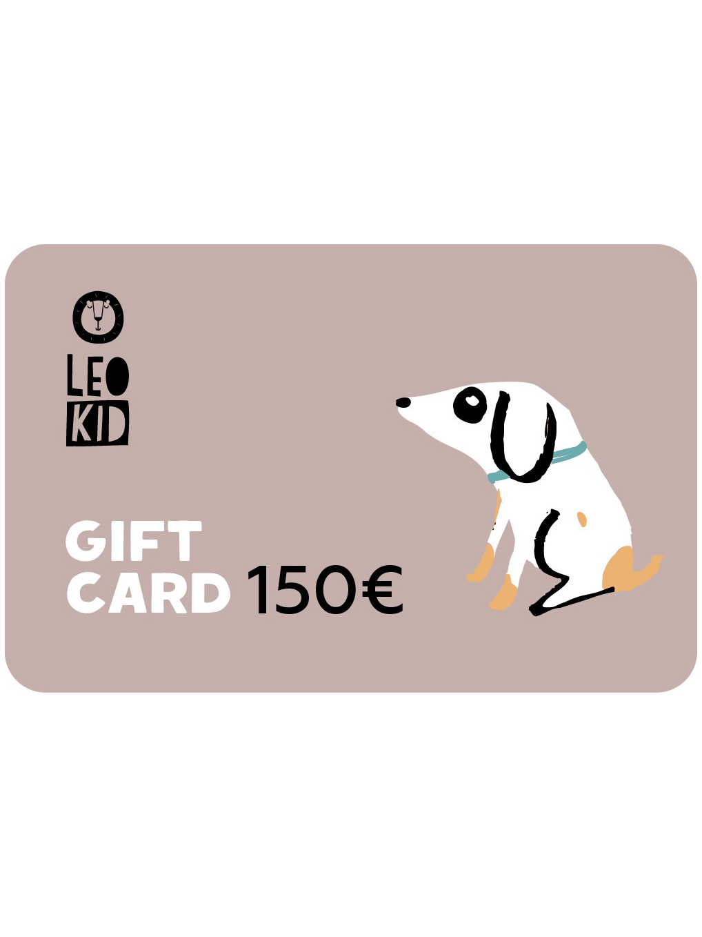 Electronic gift card 150€