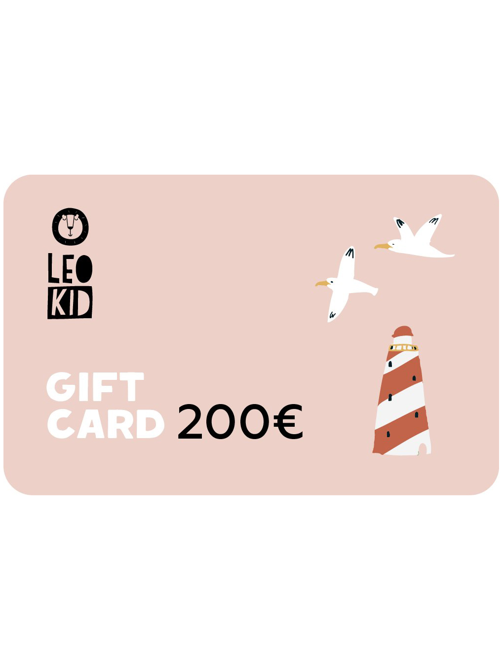 Electronic gift card 200€