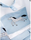 Bag tote Blue Magic Horse
