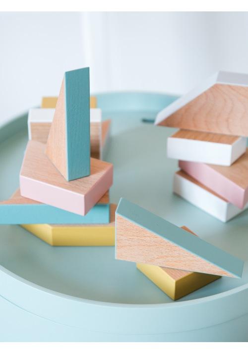 Деревянные фигурки Simple Blocks for kids