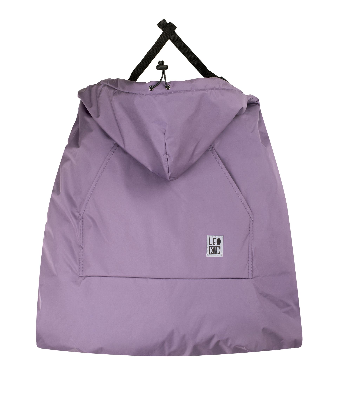 """Накидка Leokid на эрго-рюкзак """"Purple Gray"""""""