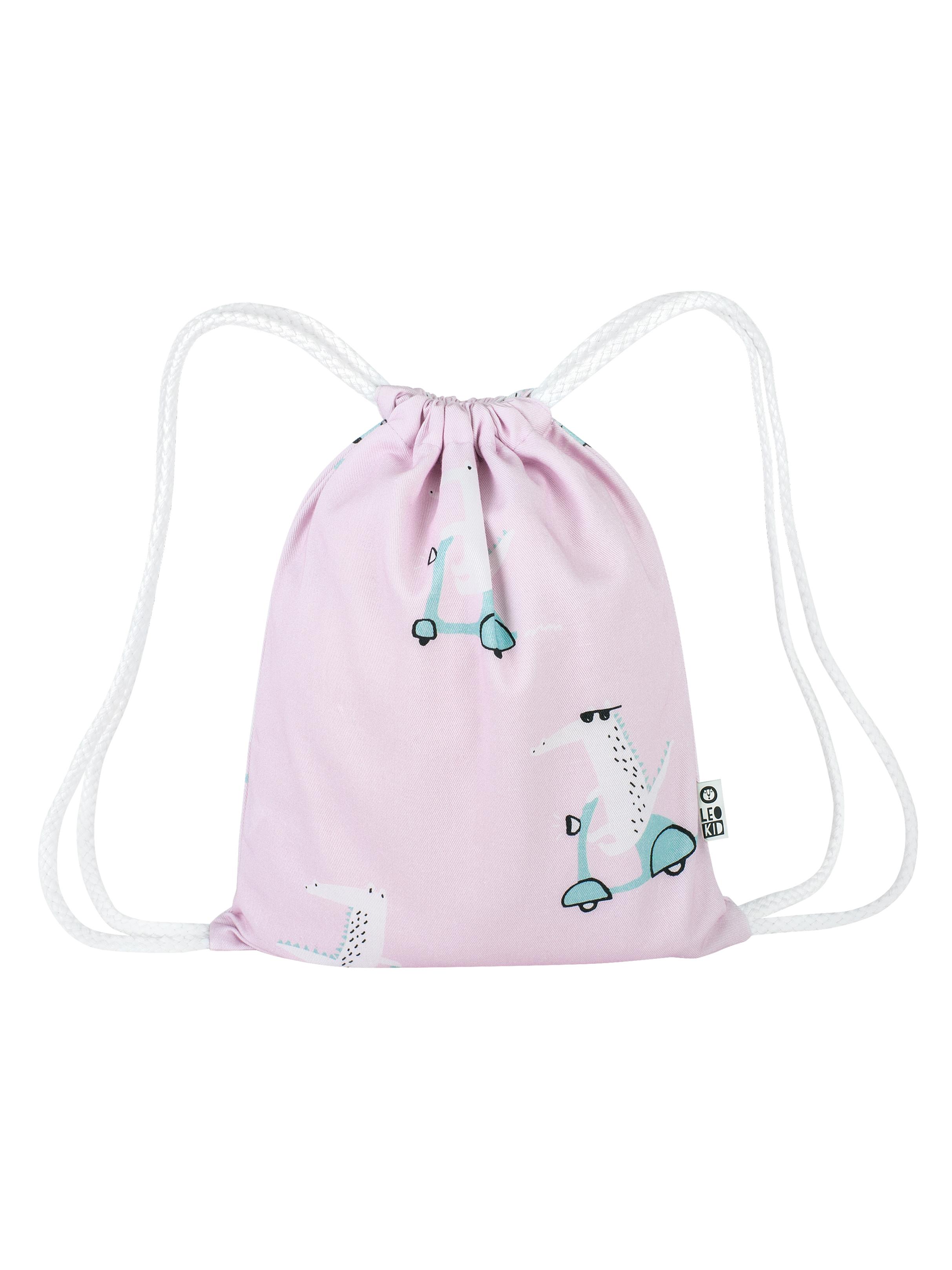 """Рюкзачок Leokid для детских принадлежностей """"Pink Vespa Croc"""""""