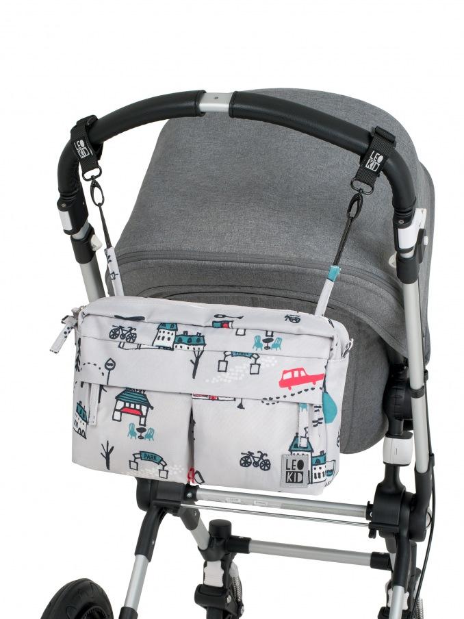 Органайзер для коляски / Organizer for stroller Cute park